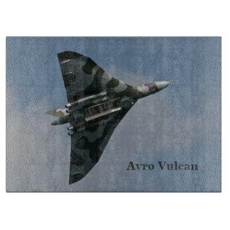 Avro Vulcan Delta Wing Bomber Cutting Board