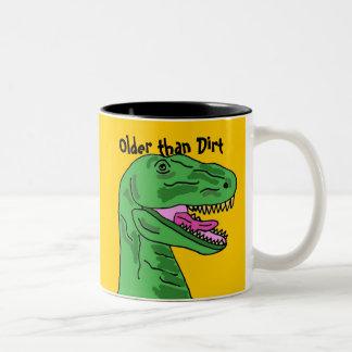 AW- Older than Dirt T-Rex Mug