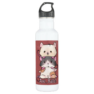 Aw, Rats! 710 Ml Water Bottle