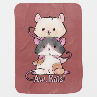 Aw, Rats! Baby Blanket