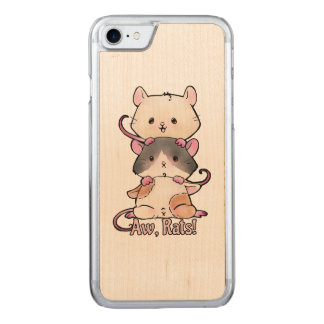 Aw, Rats! Carved iPhone 8/7 Case