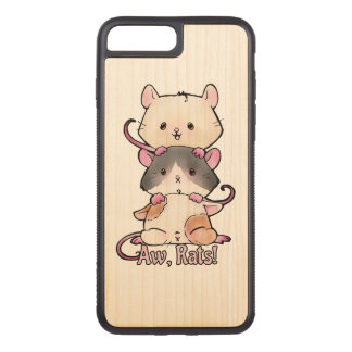 Aw, Rats! Carved iPhone 8 Plus/7 Plus Case