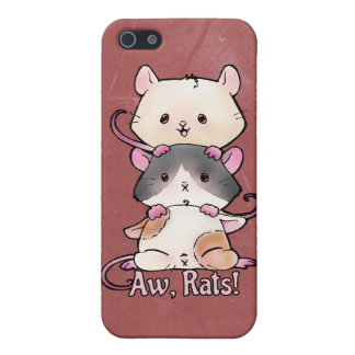 Aw, Rats! Case For iPhone 5/5S