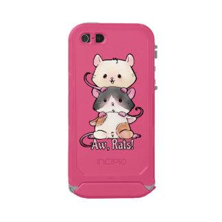 Aw, Rats! Incipio ATLAS ID™ iPhone 5 Case