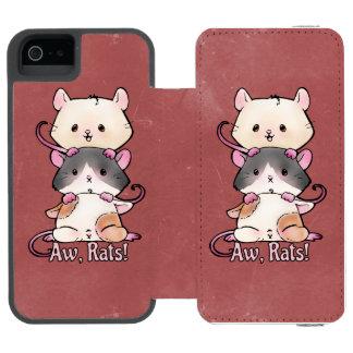 Aw, Rats! Incipio Watson™ iPhone 5 Wallet Case