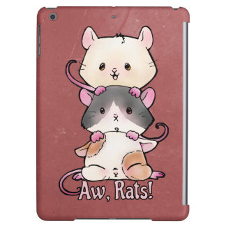 Aw, Rats! iPad Air Cover