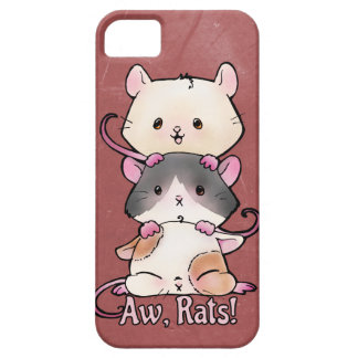 Aw, Rats! iPhone 5 Cover