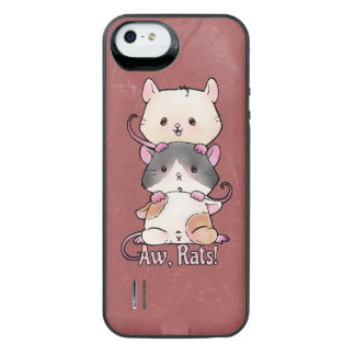 Aw, Rats! iPhone SE/5/5s Battery Case