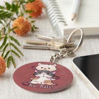 Aw, Rats! Keychain