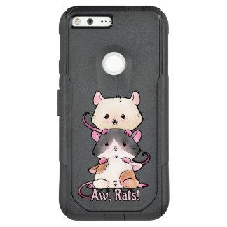 Aw, Rats! OtterBox Commuter Google Pixel XL Case