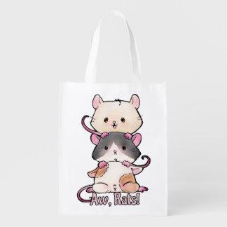 Aw, Rats! Reusable Grocery Bag