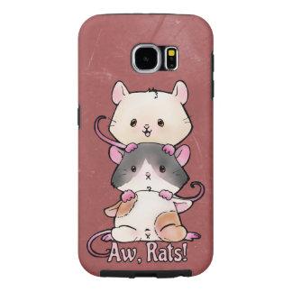 Aw, Rats! Samsung Galaxy S6 Case