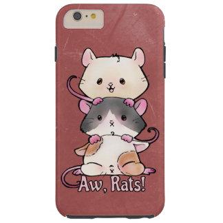 Aw, Rats! Tough iPhone 6 Plus Case