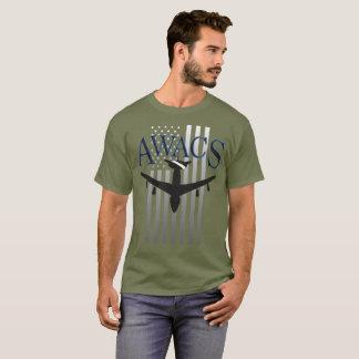 AWACS Sentry and US Flag T-Shirt