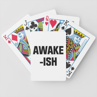 Awake-ish Bicycle Playing Cards