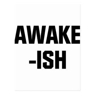 Awake-ish Postcard