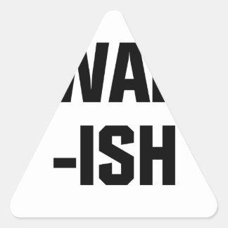Awake-ish Triangle Sticker