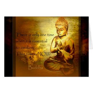 Awaken...Buddha Quotes Greeting Cards