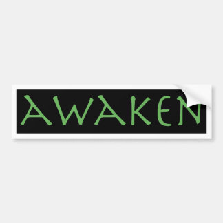 Awaken Bumper Sticker