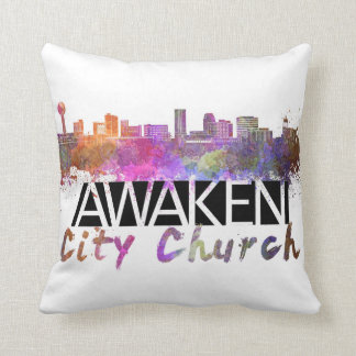 Awaken City Church pillow