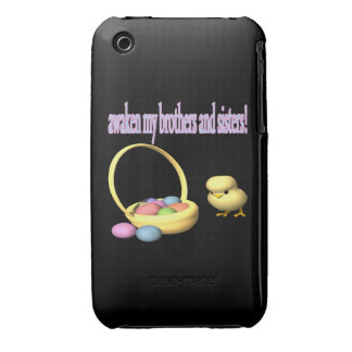 Awaken My Brothers And Sisters iPhone 3 Case