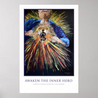 Awaken the Inner Hero Poster