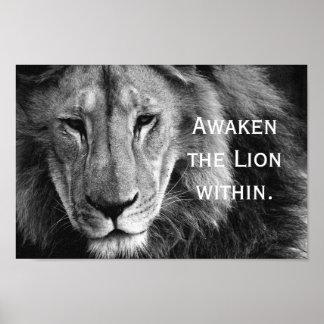 Awaken the Lion within - poster