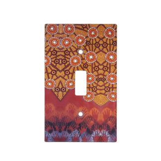 Awakening Aboriginal Light Switch Cover