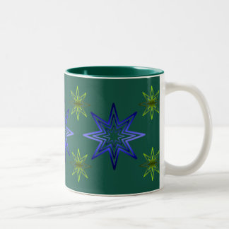 Awakening Star On Forest Two-Tone Coffee Mug