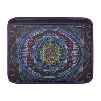 Awakening zen pattern, reiki, healing, chakra sleeve for MacBook air