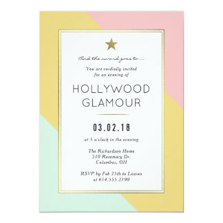 Award Viewing Oscar Party Movie Party Invitation