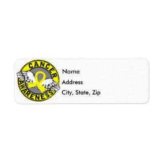 Awareness 14 Bladder Cancer Return Address Label