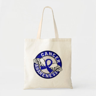 Awareness 14 Colon Cancer Canvas Bags