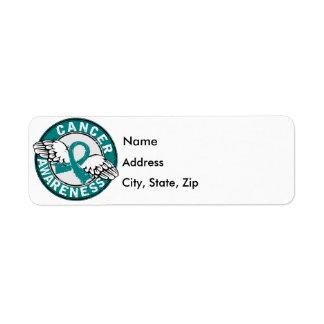 Awareness 14 Ovarian Cancer Return Address Label