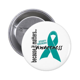 Awareness 1 Anxiety Disorder 2 Inch Round Button