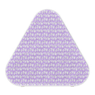 Awareness Butterflies on Lilac Purple Speaker