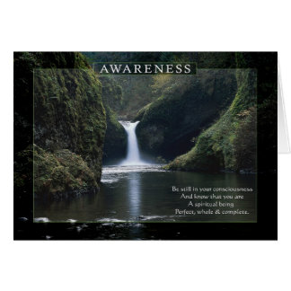 Awareness Card