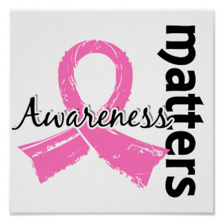 Awareness Matters 7 Breast Cancer Print