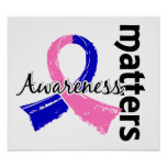 Awareness Matters 7 Male Breast Cancer Poster