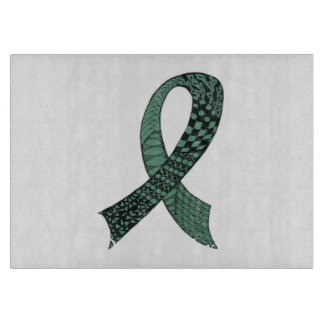 Awareness Ribbon Any Color Mix and Match Cutting Board