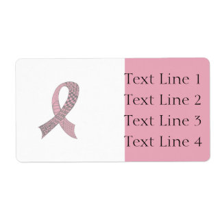 Awareness Ribbon Any Color Mix and Match Shipping Label