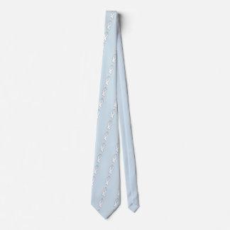Awareness Ribbon (White) Tie
