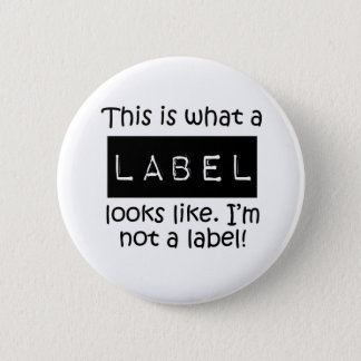 Awareness tee Label 2 Inch Round Button