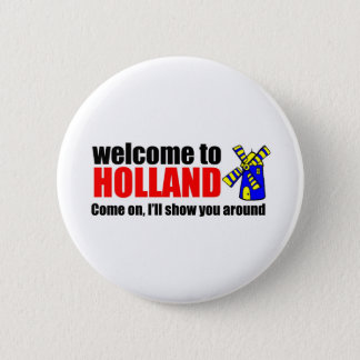 Awareness teel holland 2 inch round button