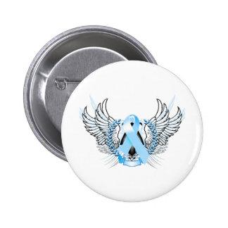 Awareness Tribal Light Blue Buttons