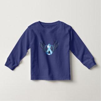 Awareness Tribal Light Blue Toddler T-shirt
