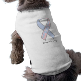 AwarenessRibbonA.125150430_std, Diabetic Dog Shirt
