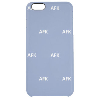 Away from keebord clear iPhone 6 plus case