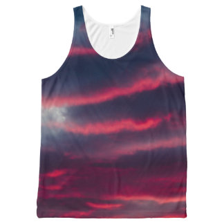 away from our window All-Over-Print tank top