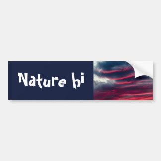 away from our window bumper sticker